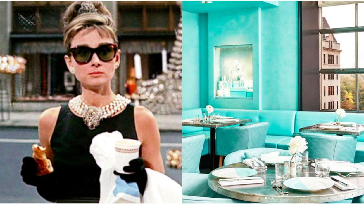 You Can Actually Now Have Breakfast At Tiffany's