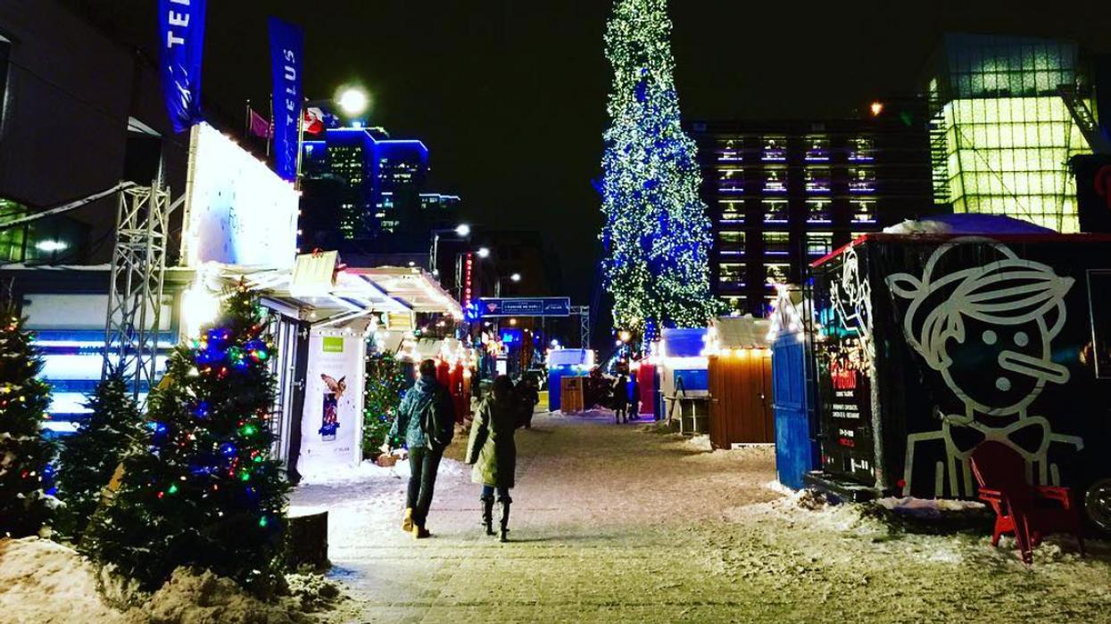 Le plus féérique village de Noël s'installe très bientôt au centre-ville de Montréal