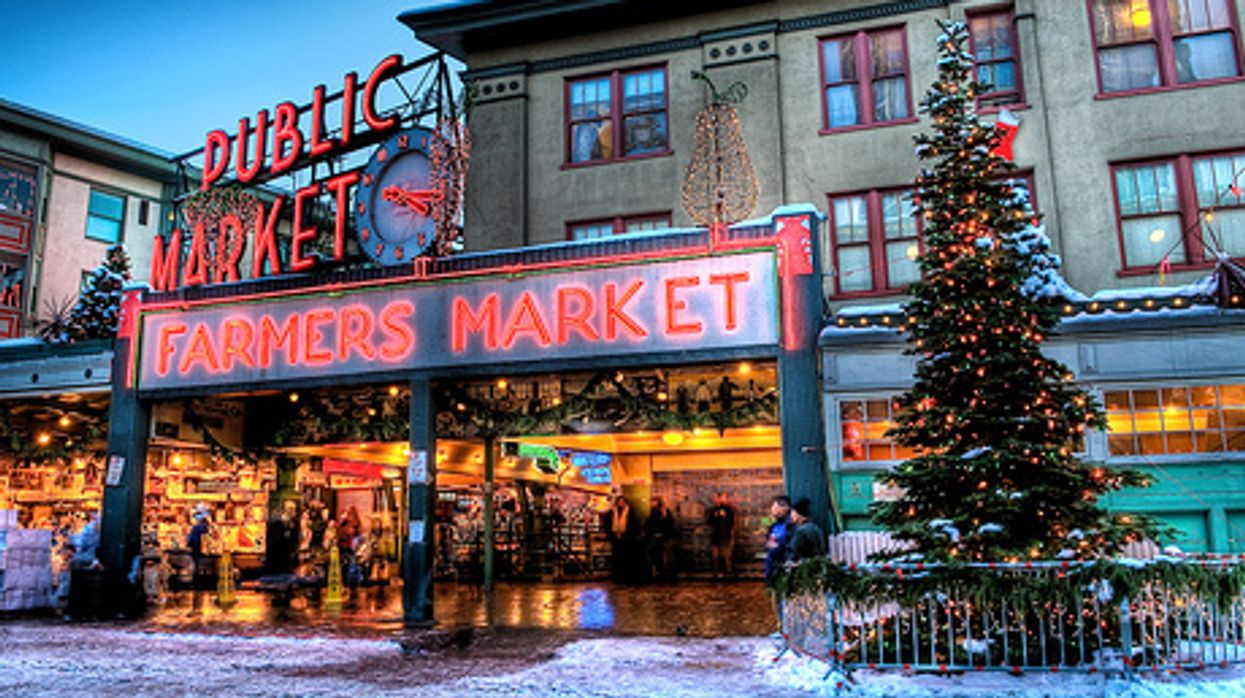 This Magical Christmas Market Is Definitely Worth The Road Trip To Seattle Next Weekend