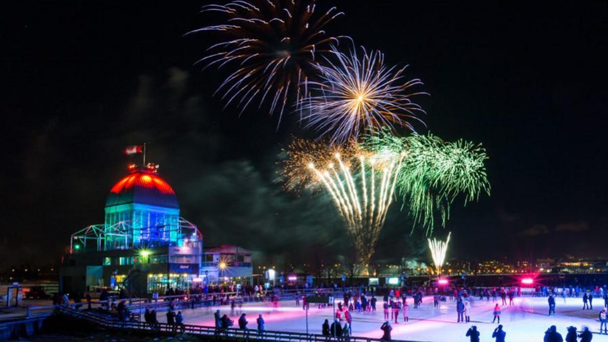 Tu ne veux pas manquer les feux d'artifices de la patinoire du Vieux-Port