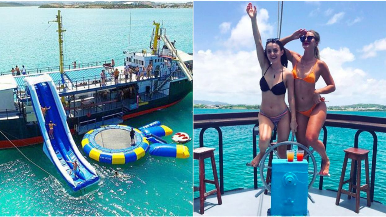 This Party Boat Is A Floating Amusement Park And It Looks Insane