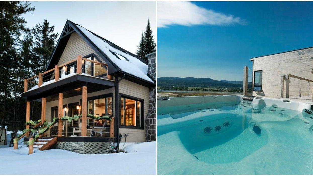 16 chalets luxueux que tu voudras louer avec tes amis cet hiver au Québec