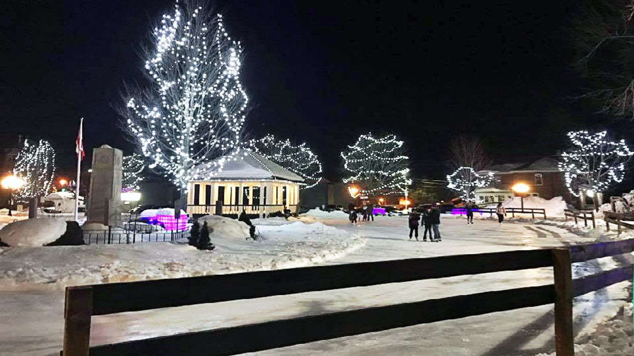 You Can Skate Through This Magical Snow-Covered Wonderland In Ontario