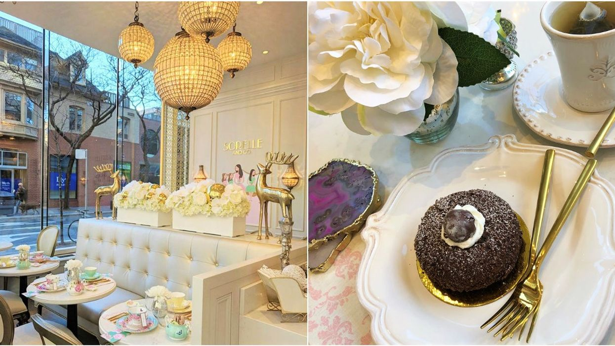 This New Yorkville Bake Shop Might Just Be The Prettiest Cafe In Toronto