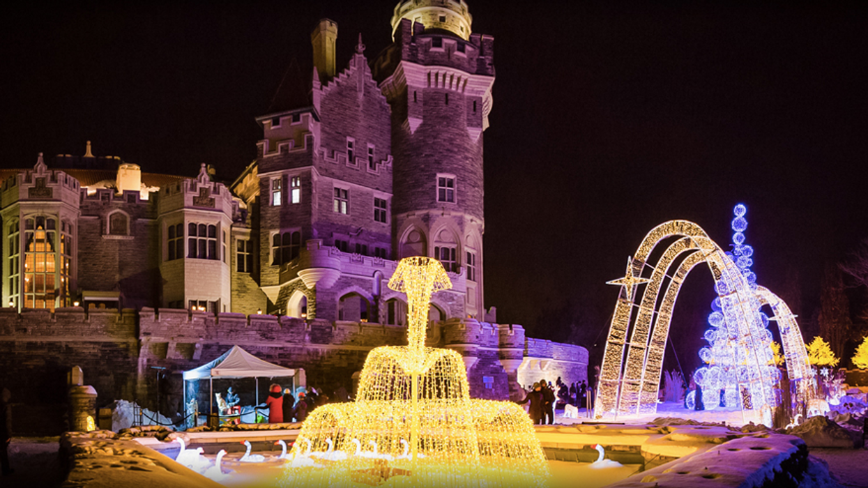 Casa Loma Will Transform Into A Winter Wonderland This Weekend