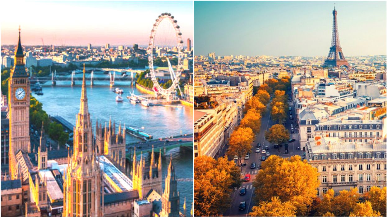 Round Trip Flights From Toronto To London And Paris Will Be On Sale For $440 In 2018