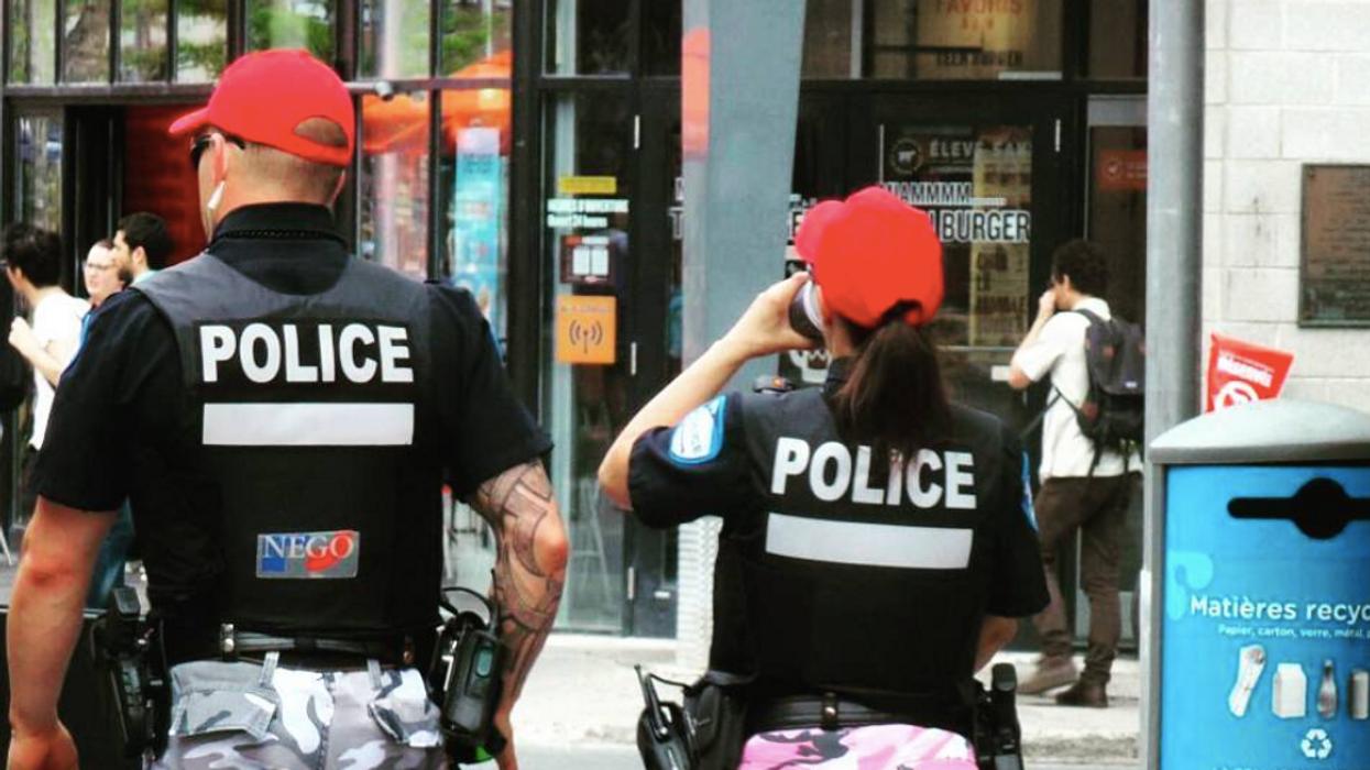 La police se camoufle pour piéger les automobilistes délinquants
