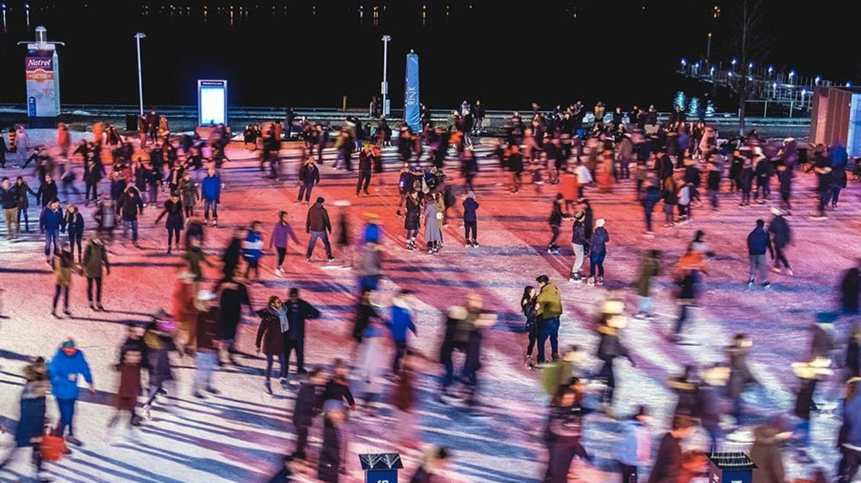 Toronto's Hosting Free Outdoor Skating Raves All Winter Long