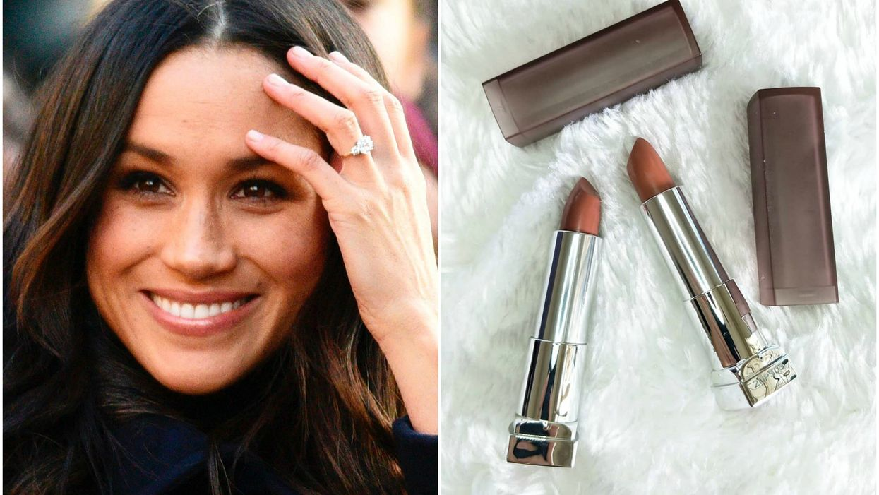 This Is The Exact Shade Of Megan Markle's Favourite Go-To Nude Lipstick