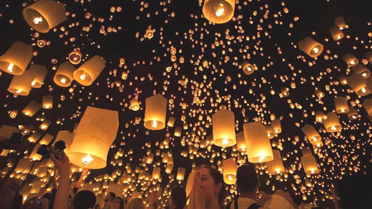 You Can Go To A Massive Latern Festival Happening In Vancouver Next Week