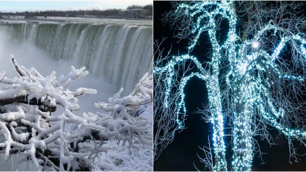 Niagara Falls est vraiment magique cet hiver et ça vaut le road trip