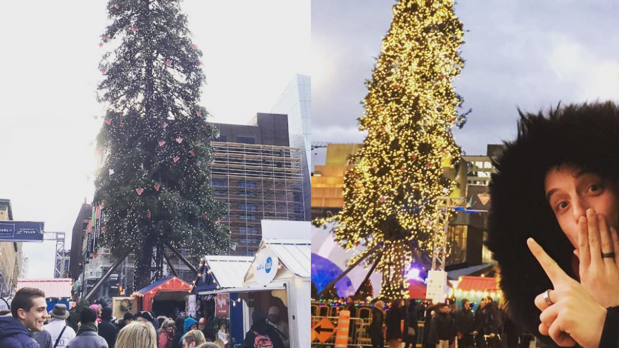 Rome Just Beat Montreal For The Ugliest Christmas Tree To Exist This Holiday