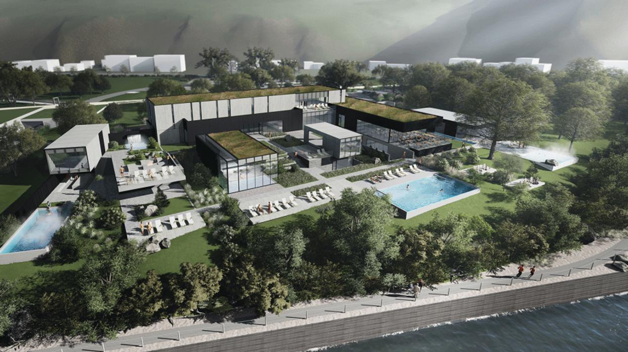 Un énorme spa à 13M$ va bientôt ouvrir à Québec et ça ressemble au paradis