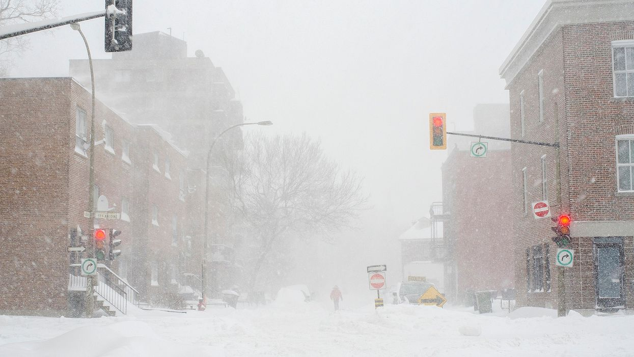 Une « bombe météo » se dirige vers le Québec