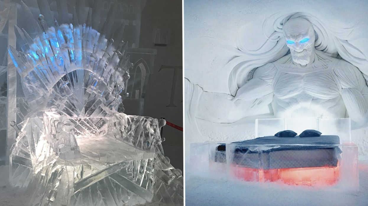 You Can Now Stay In This Insane Game Of Thrones Ice Hotel And Feel Like A Real Life Khaleesi