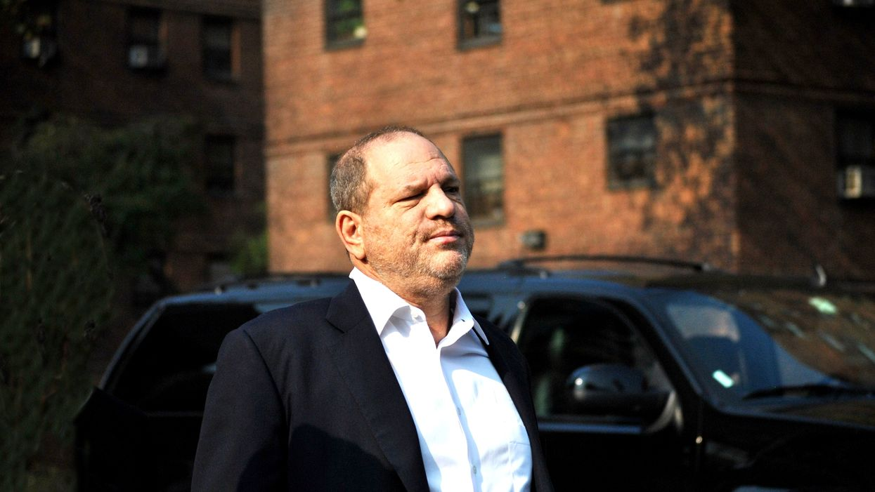 Harvey Weinstein Got Slapped In The Face By Someone In A Restaurant And It's Amazing (VIDEO)