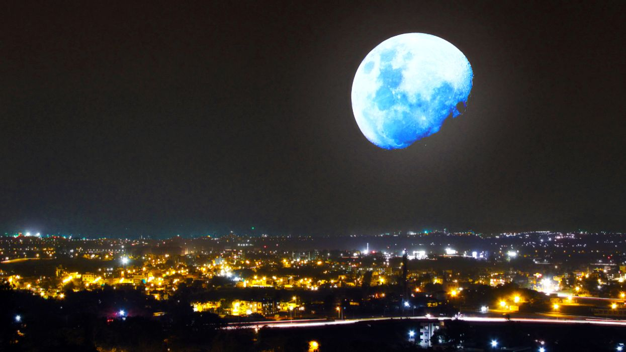 A Rare Super Blue Moon Eclipse Will Be Visible From Canada This Month