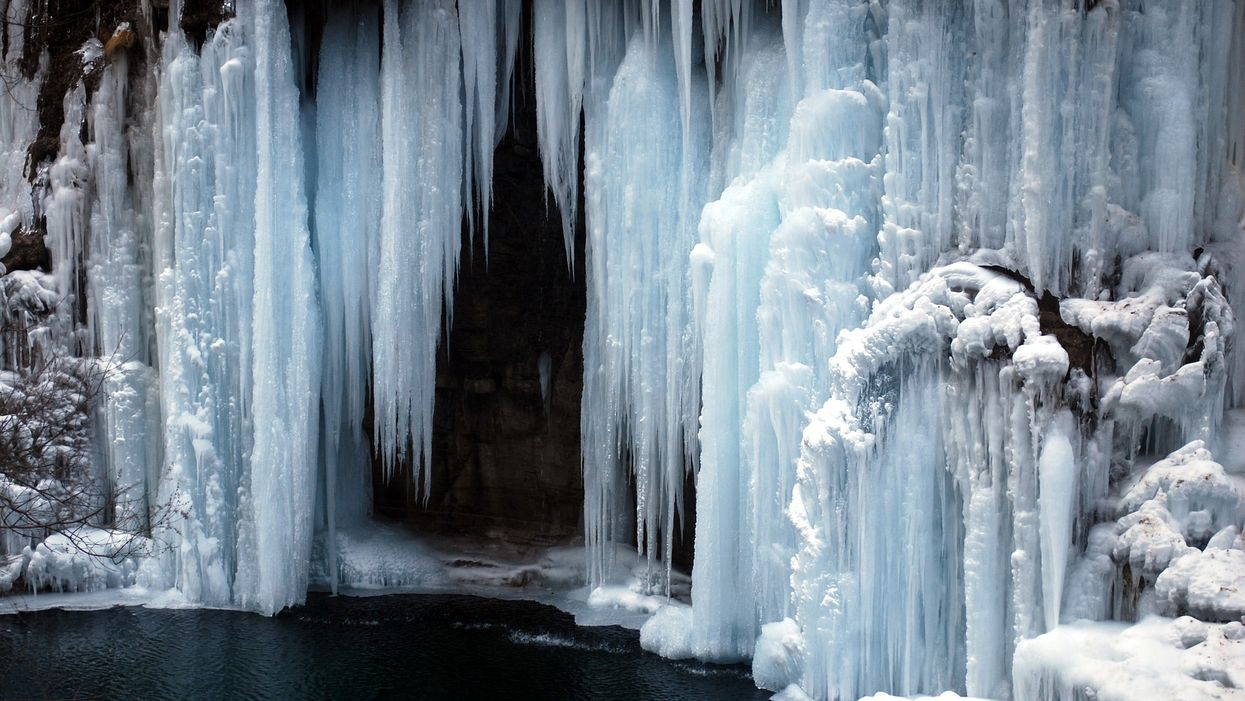 You Can Now Go Climbing On These Beautiful Frozen Waterfalls In BC