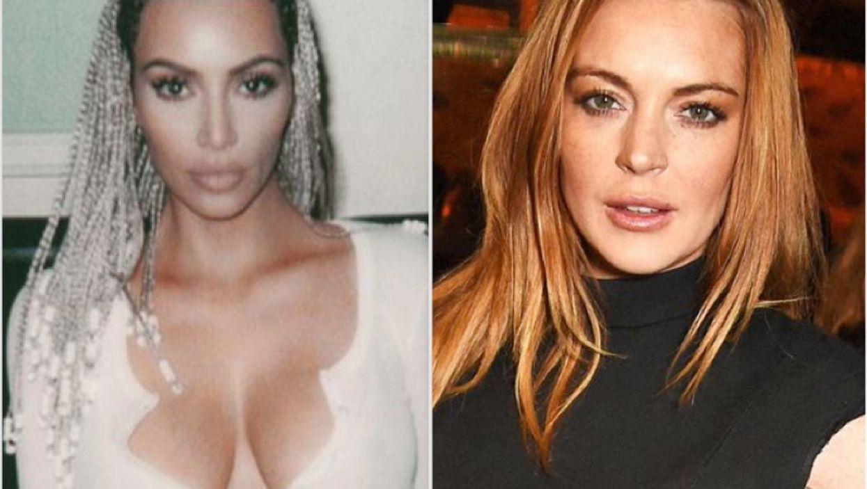 De la bisbille entre Kim Kardashian et Lindsay Lohan qui va bien te faire rire