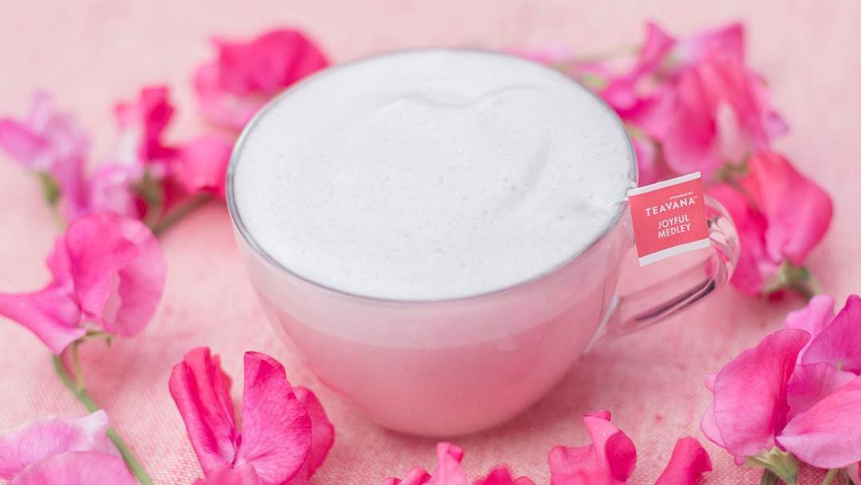 Millennial Pink Lattes Are Starbucks' Most Instagrammable Drink Yet