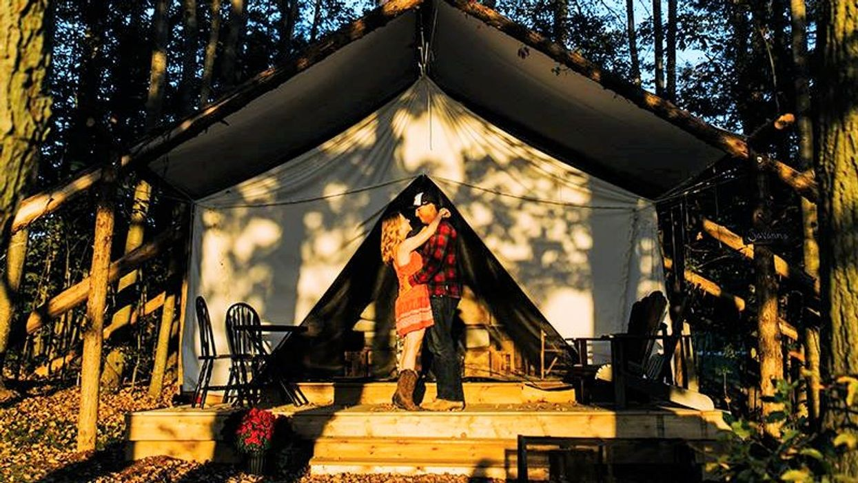 This New Luxurious Glamping Retreat In Ontario Is The Perfect Gift For Bae This Valentine's Day