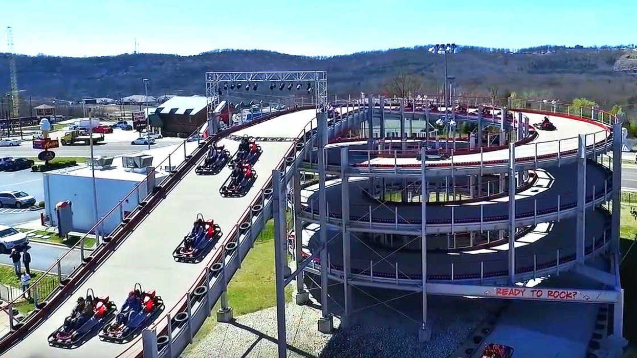 L'immense piste de go-kart «Mario Kart» sur 4 étages ouvre ce printemps à Niagara Falls