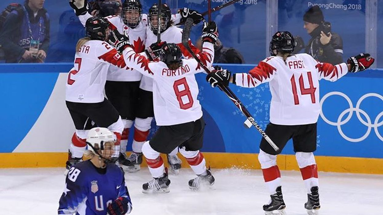 Canadian Women's Hockey Team Suffers A Heartbreaking Loss To The U.S. While You Were Sleeping