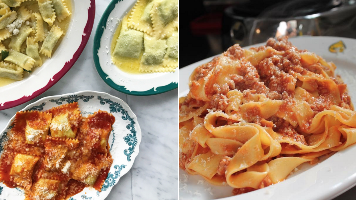 Toronto Just Got A Brand New Secret Pasta Restaurant And Our Mouths Are Already Watering