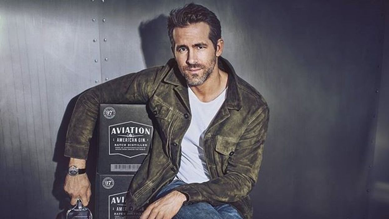 Ryan Reynolds Now Has His Very Own Gin Company And Of Course You Can Buy It At The LCBO