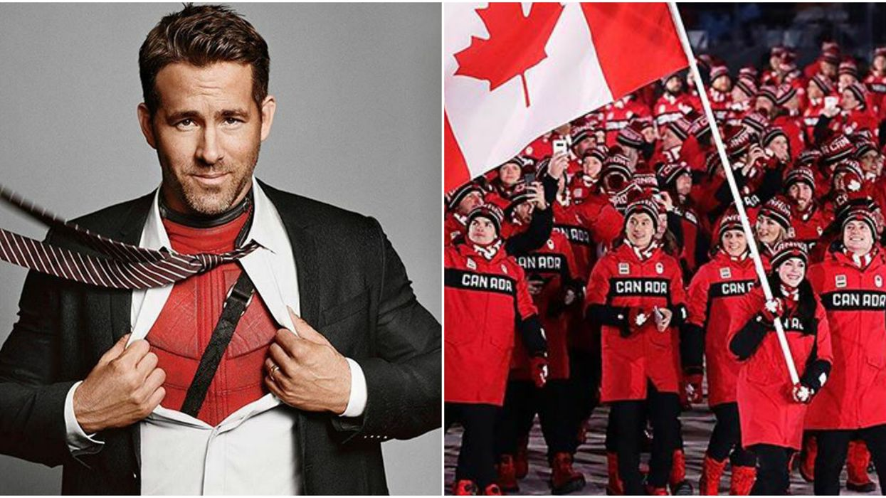 Ryan Reynolds Just Gave A Shout Out To These Canadian Olympians And We're Swooning