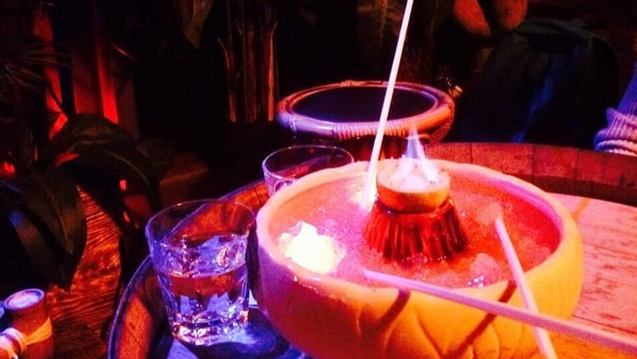 You Can Get Gigantic Flaming Punchbowls At This Vancouver Bar