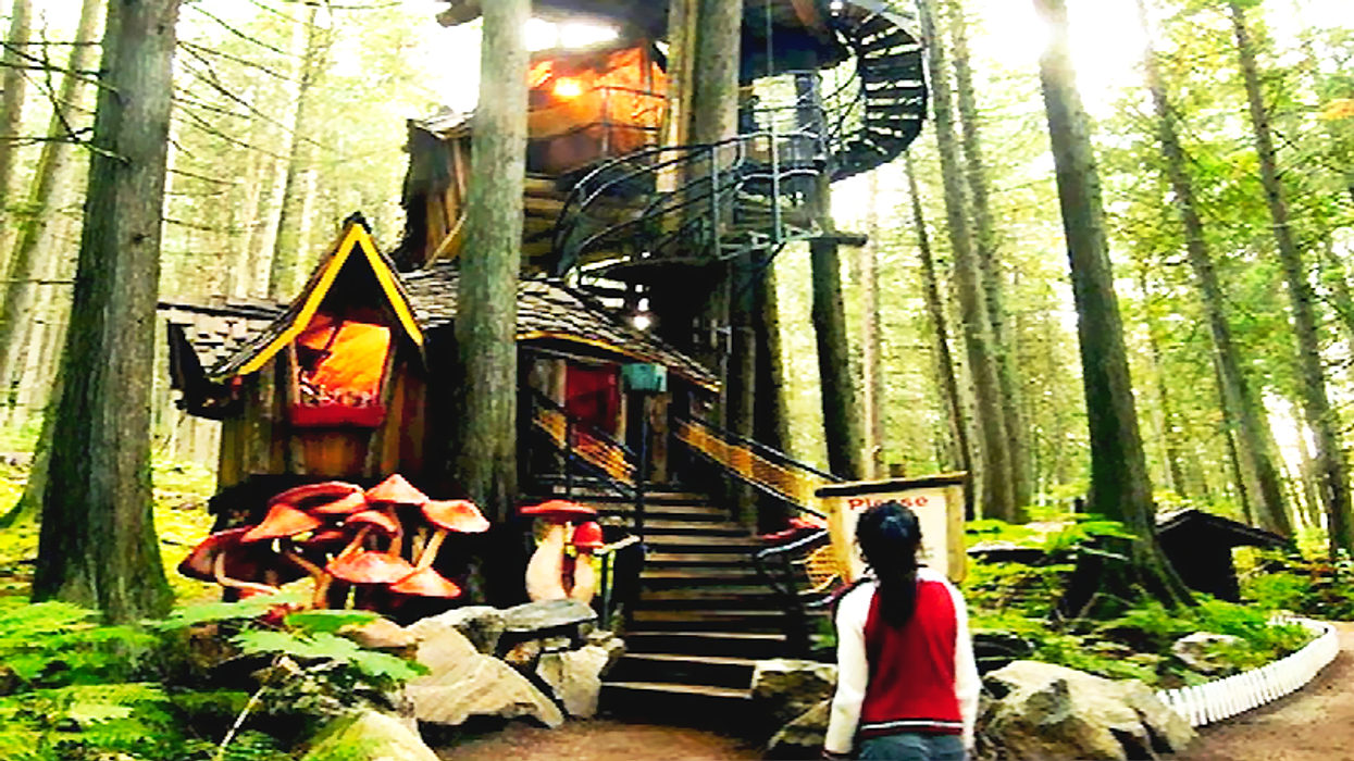 This Enchanted Forest In Canada Brings All Of Your Favourite Classic Fairytales To Life