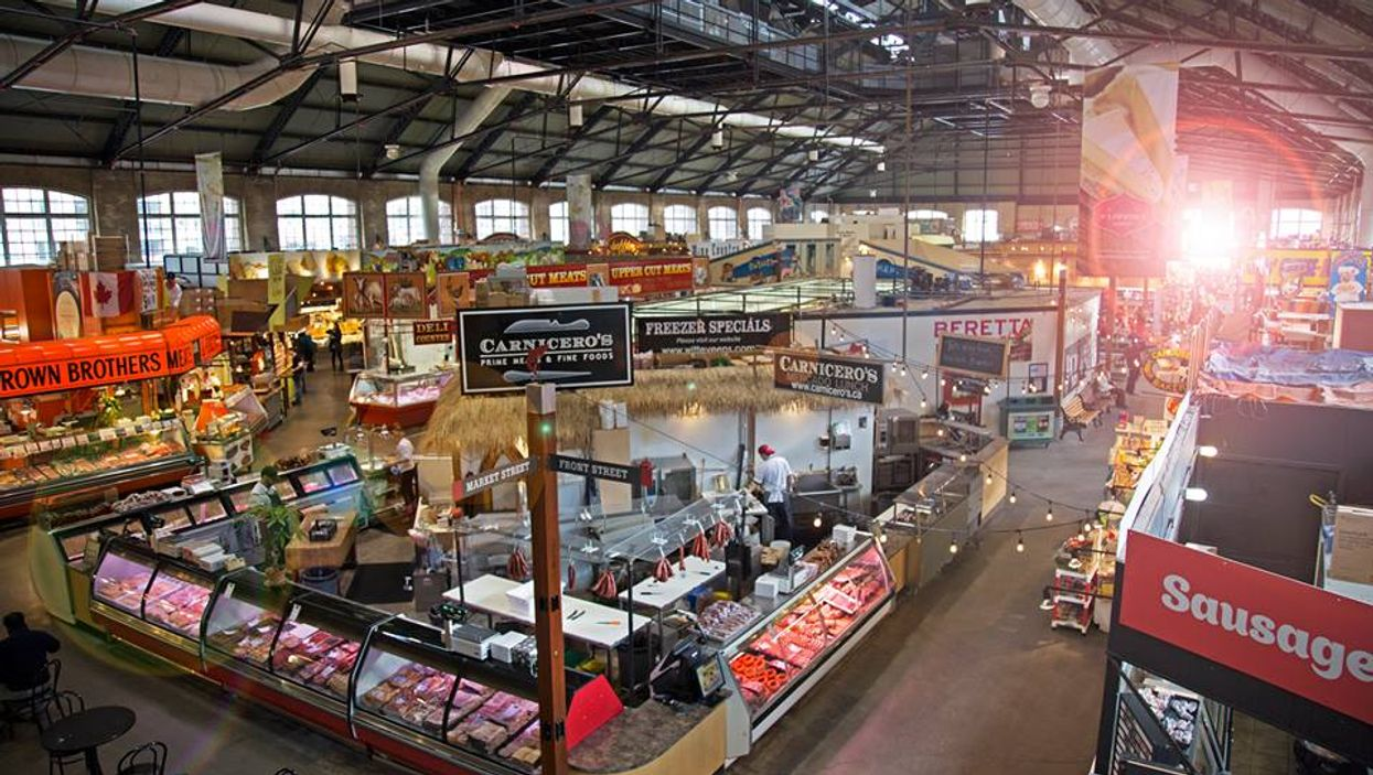 """Toronto's St. Lawrence Market Ranked #1 """"Food Market"""" In The World"""