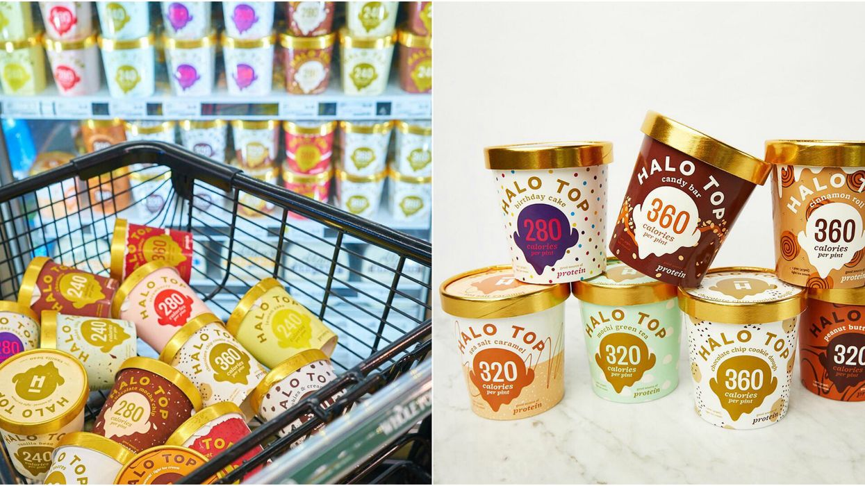 """America's Famous """"Halo Top Ice Cream"""" Is Now Available In Canada"""