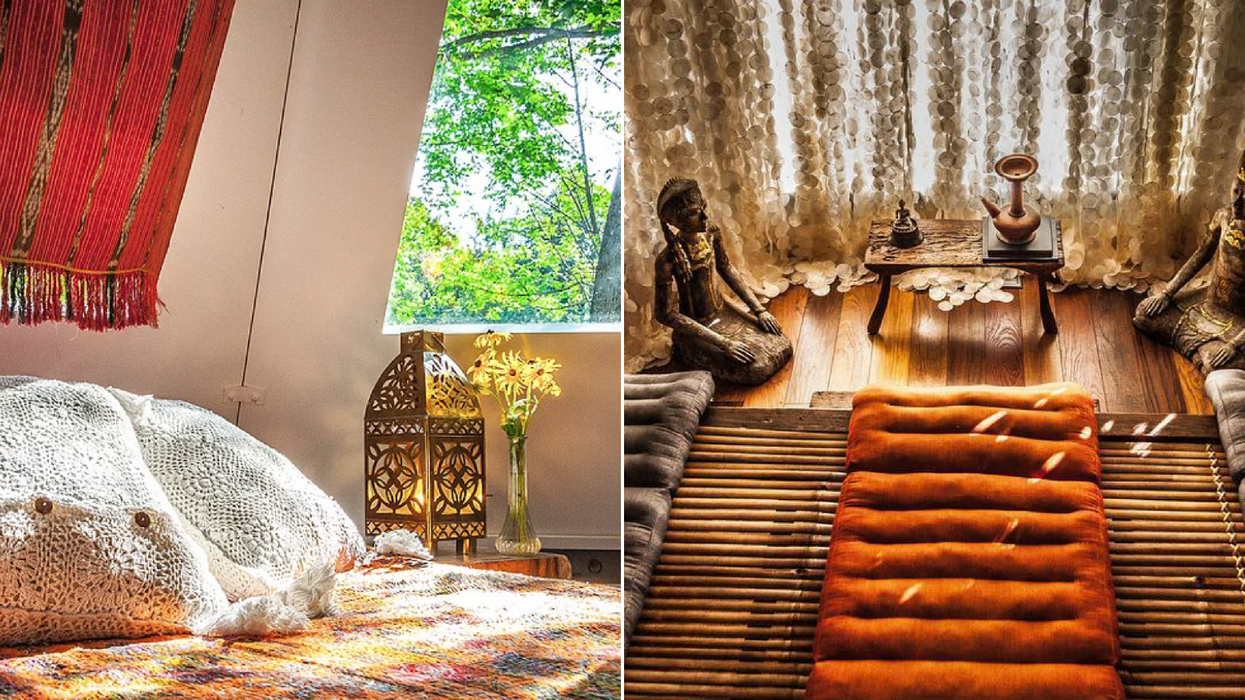 Tu auras l'impression de dormir à Bali dans cette auberge en Montérégie