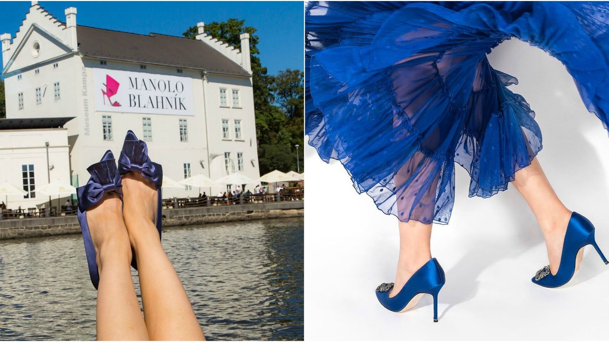 You Can Pretend You're Carrie Bradshaw At The Manolo Blahnik Exhibit In Toronto