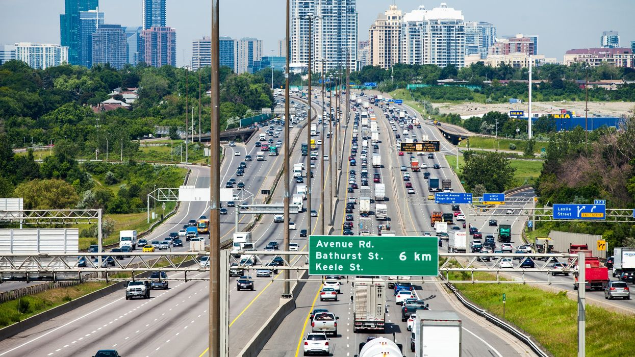 Ontario's 401 Highway Is Undergoing Massive Construction