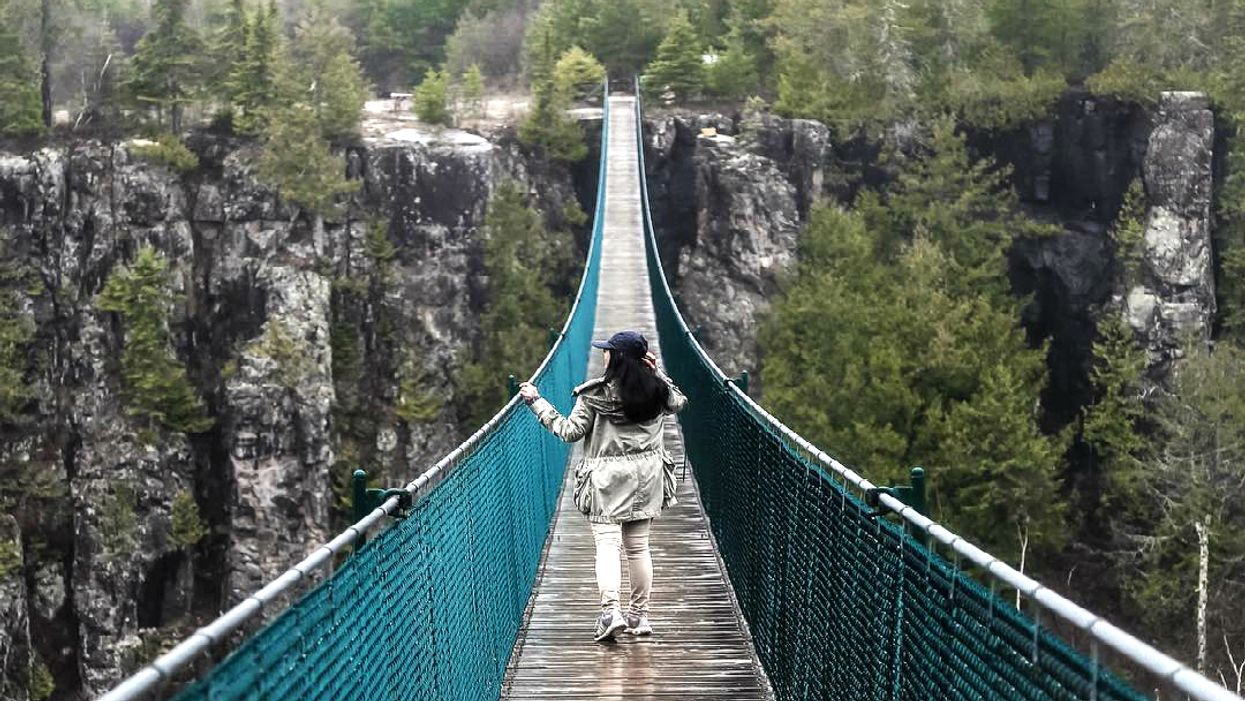 Ontario Is Home To The Longest Suspension Footbridge In Canada And It's Worth A Visit