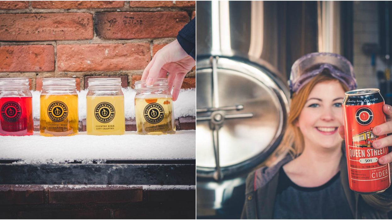 Toronto's First Ever Cider House Just Opened Up