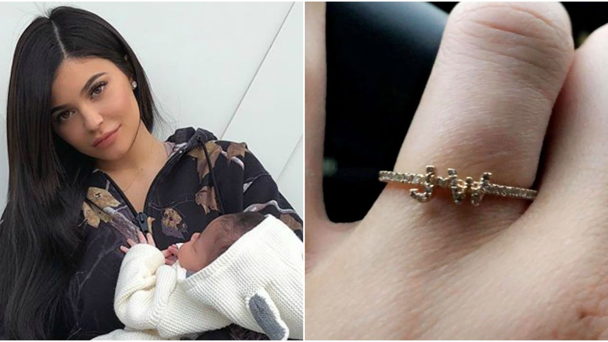 Kylie Jenner Finally Reveals The Meaning Behind The Ring She's Been Wearing