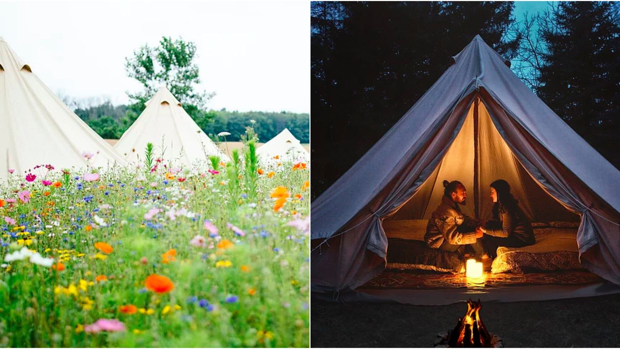 You've Got To Go Glamping At This Luxurious Glamp Site In Ontario This Spring