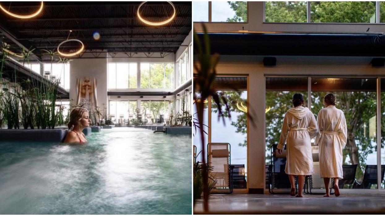 Ce spa à 1h de Montréal a des bassins d'eau qui vont te faire capoter