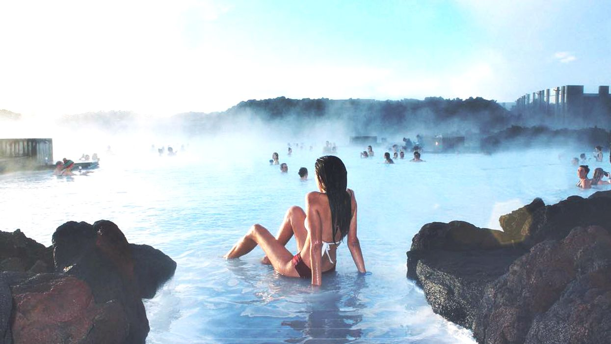You Can Fly To Iceland To Experience The Blue Lagoon And Northern Lights