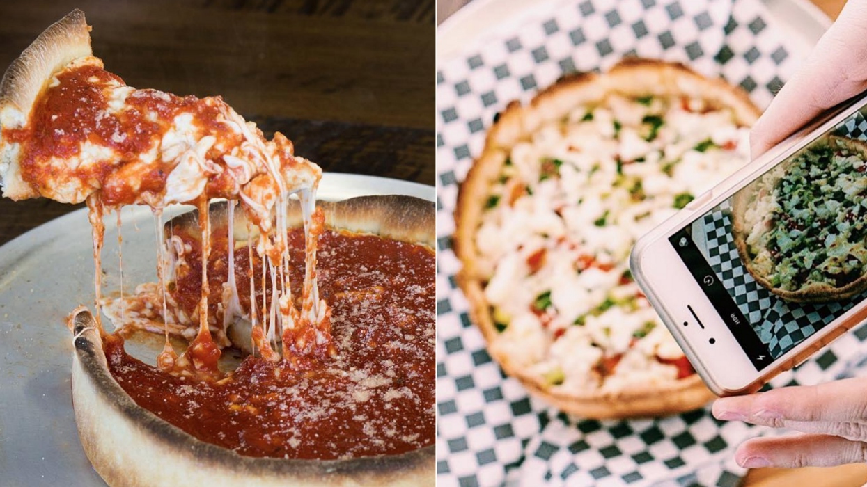 This Authentic Chicago Deep Dish Pizza Spot In Brampton Is So Worth The Drive