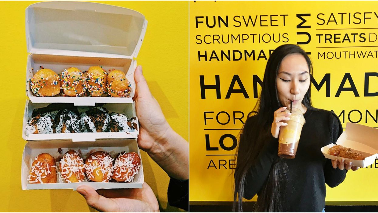 A Cafe Dedicated To Donut Holes Just Opened Up In Toronto And It Looks Delicious