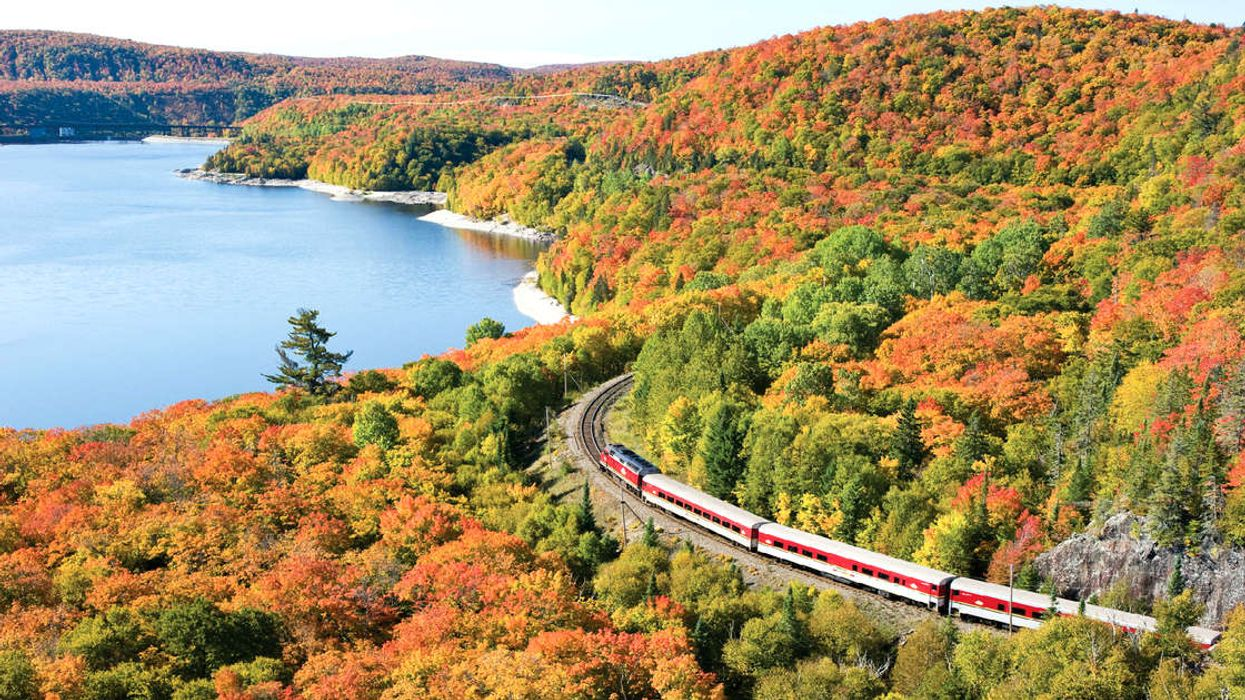 This $100 Train Ride Will Take You On The Most Scenic Tour Of Ontario