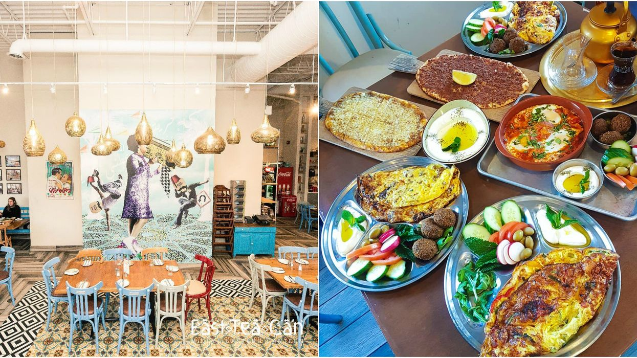 This Gorgeous Restaurant In Mississauga Will Make You Feel Like You Were Transported To The Middle East