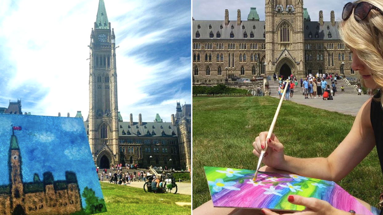 You Can Paint For Free On Parliament Hill At This Ottawa Event