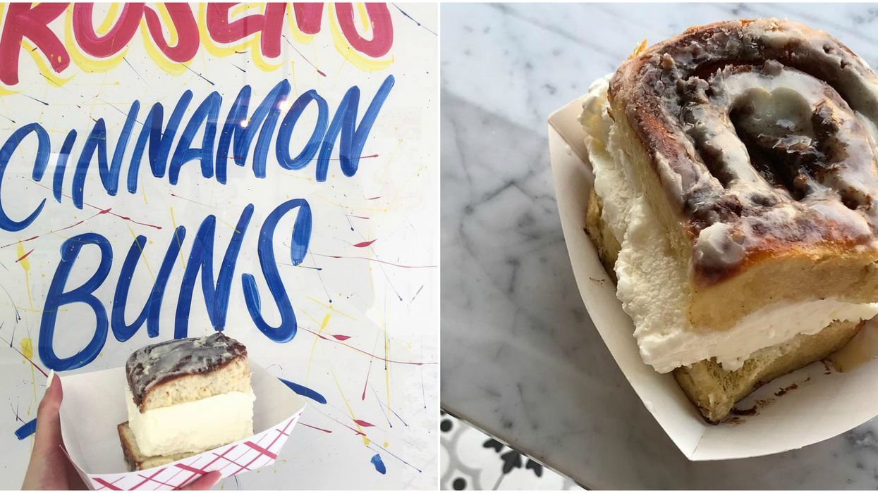 You Can Now Get Cinnamon Bun Ice Cream Sandwiches At This Toronto Bakery