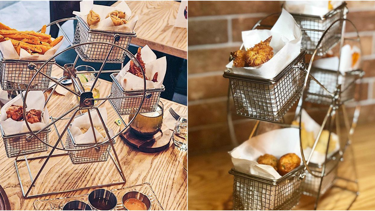 You Can Get A Ferris Wheel Of Fried Snacks At This All-New Toronto Cafe